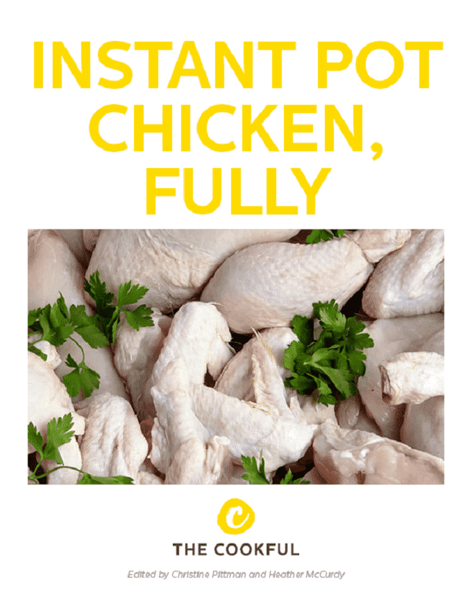 Find out everything you need to know to make the best chicken recipes in your Instant Pot on busy weeknights,with recipesand ideas galore, in thisgorgeous (and free!) ebook just for you.
