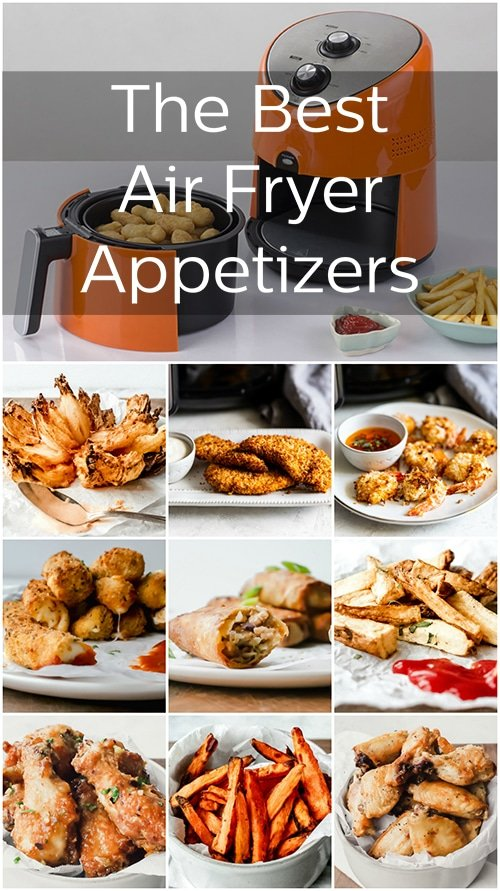 Using an air fryer to make your favorite fried appetizers removes a bit of the grease and makes them even tastier. We just know these air fryer appetizers are going to make you the life of the party.