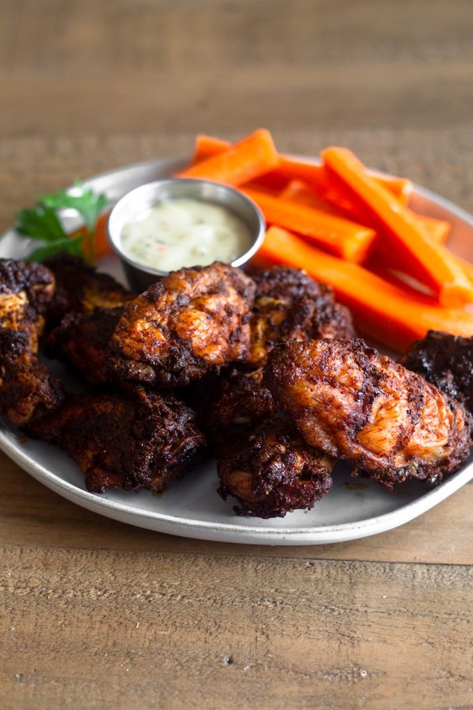 Smoking chicken wings adds a whole new flavor to them. People will go crazy over these at your next party.
