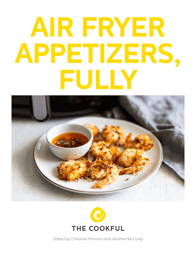 Find out everything you need to know to make the tastiest air fryer appetizers, with recipes and ideas galore, in this gorgeous (and free!) ebook just for you.