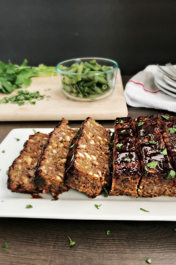 We have the easiest meatloaf recipe coming right up. Seriously. Mix up these four ingredients and pop it in the oven. You'll be serving a delicious meatloaf dinner before you know it.