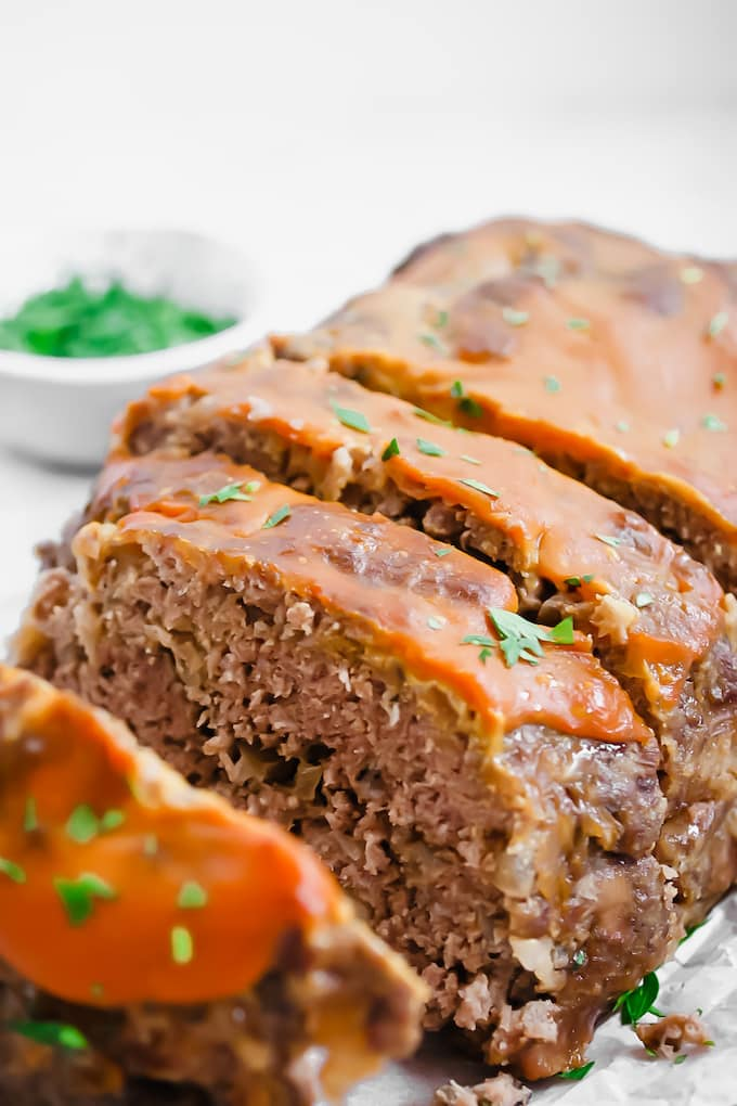 Diets often mean you can't enjoy your favorite comfort food. Well, we've got news for you. With a few simple changes you can enjoy meatloaf even on a Keto diet.