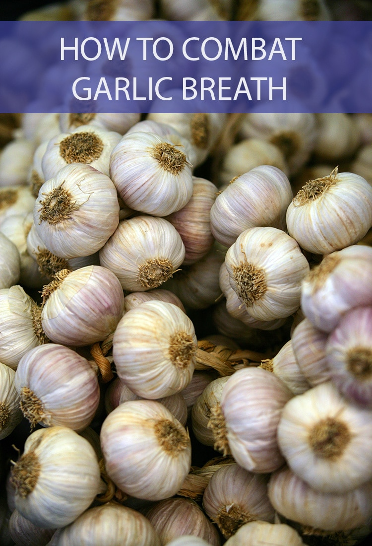 We all love garlic, but dreaded garlic breath? Not so much! We're showing you how to combat it so you can enjoy all these amazing garlic recipes we're delivering.