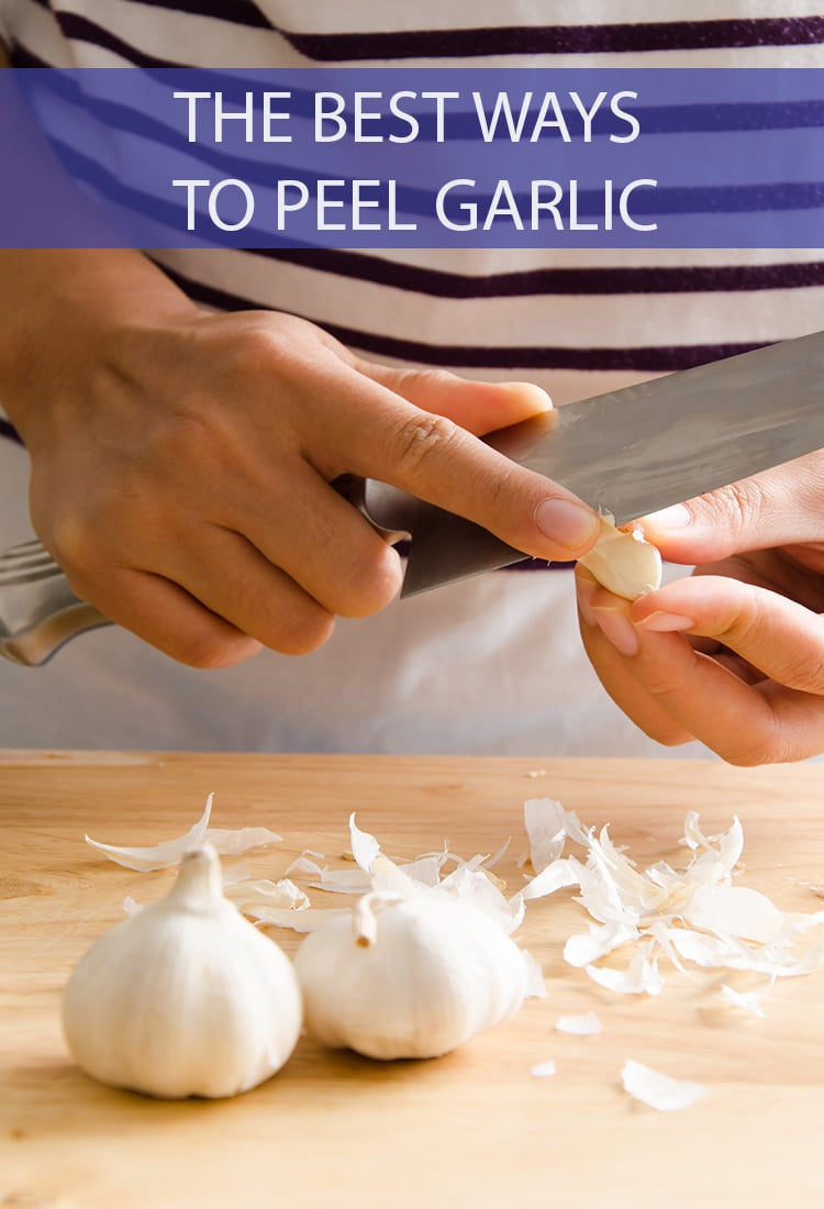 Garlic is notoriously difficult to peel, but no more. We're giving you the scoop on how to peel garlic the very best ways.
