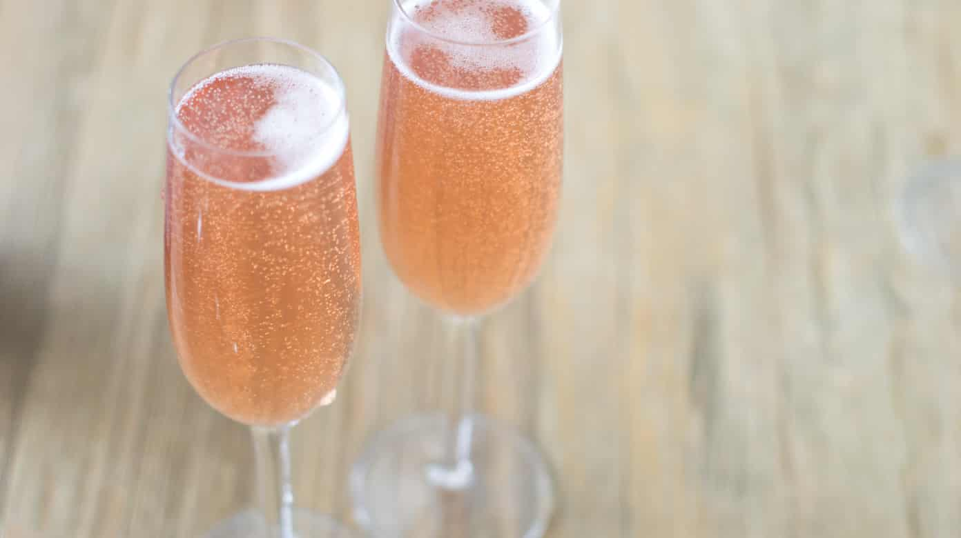 Kir Royale Champagne Cocktail