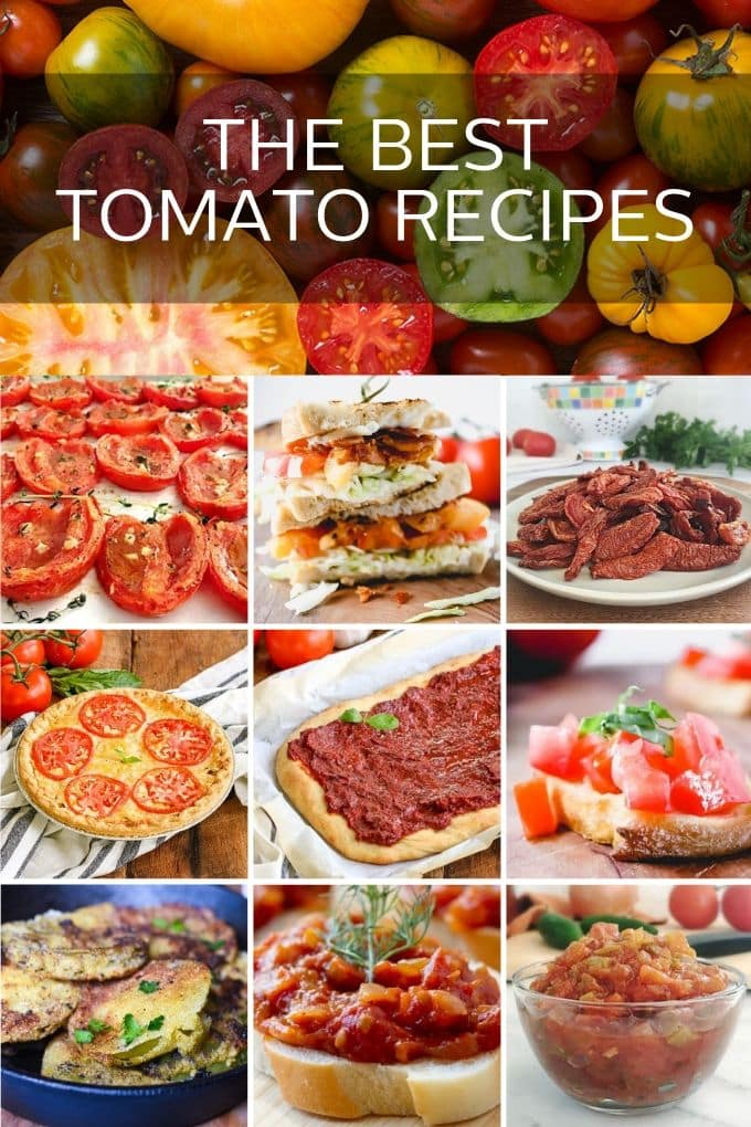 10 Amazing Tomato Recipes