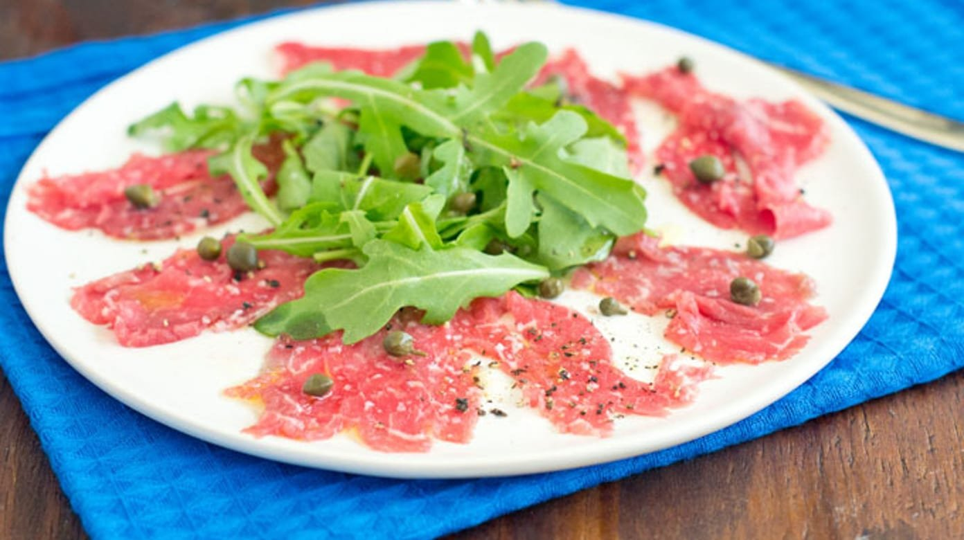 How To Make Beef Carpaccio The Cookful