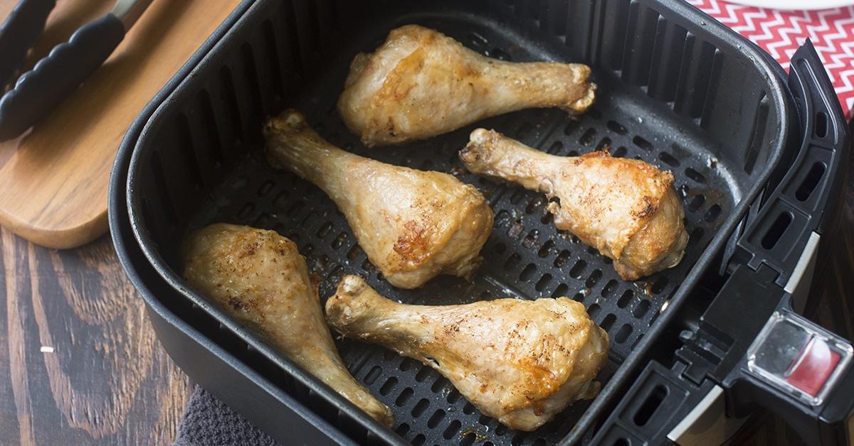 Air Fryer Chicken Drumsticks The Cookful