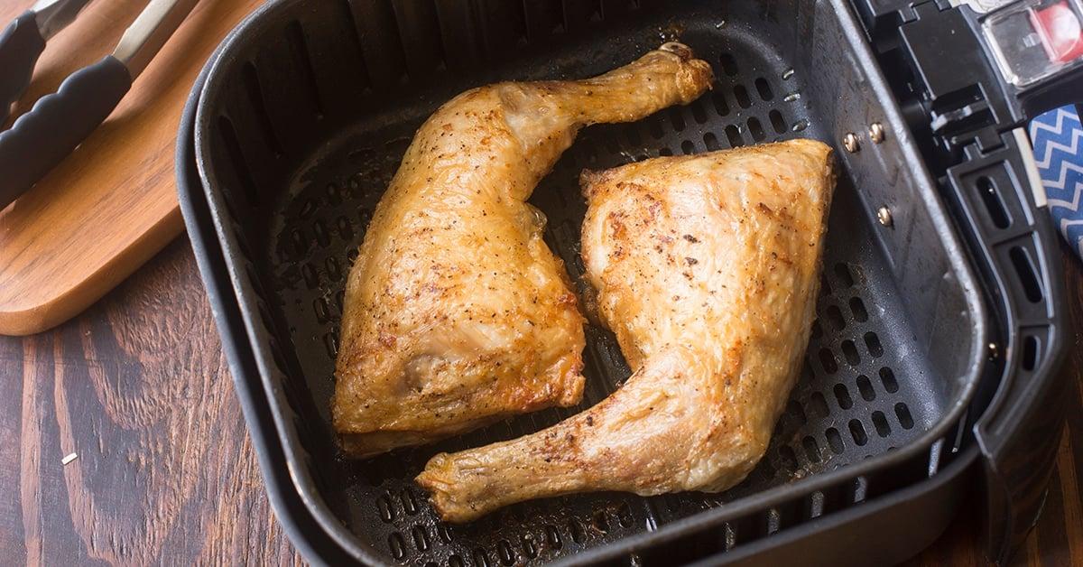 Air Fryer Chicken Leg Quarters The Cookful