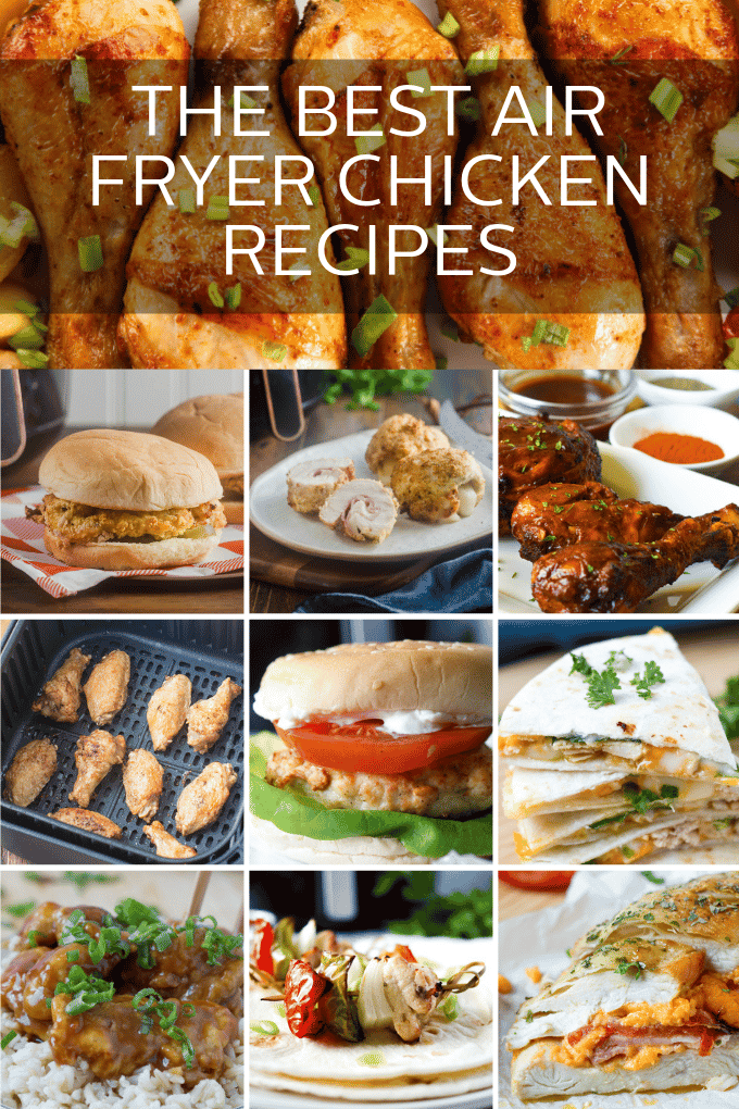 15 Delicious Air Fryer Chicken Recipes