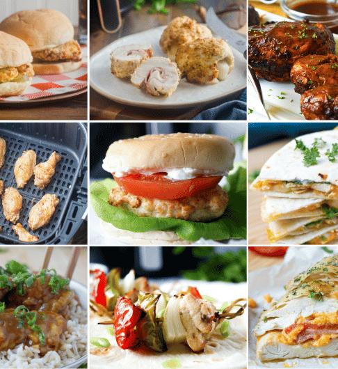 15 Delicious Air Fryer Chicken Recipes
