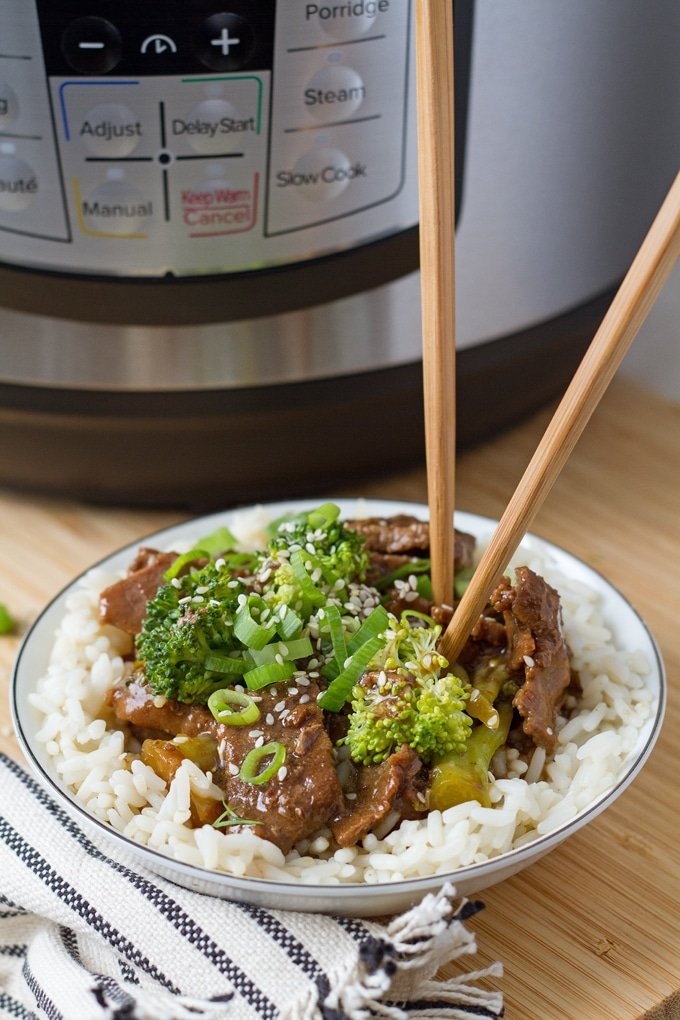 You can make beef and broccoli that tastes amazing in the Instant Pot. The secret is in the cooking method - pressure cooking! It infuses all those flavors faster than ever.