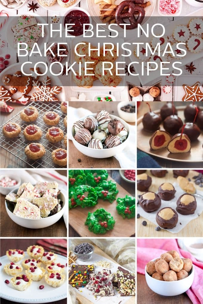 These Tasty No-Bake Christmas Cookies are perfect for holiday entertaining. In fact, most of them are good for entertaining all year-round so save this list. You'll need it often.