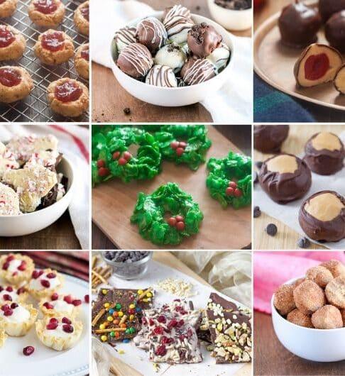 No Bake Christmas Cookie Recipes
