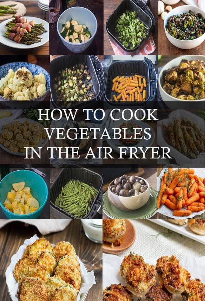 Save time and cook delicious vegetables in your Air Fryer! We've got tips and cook times, along with plenty of recipes to get you started.