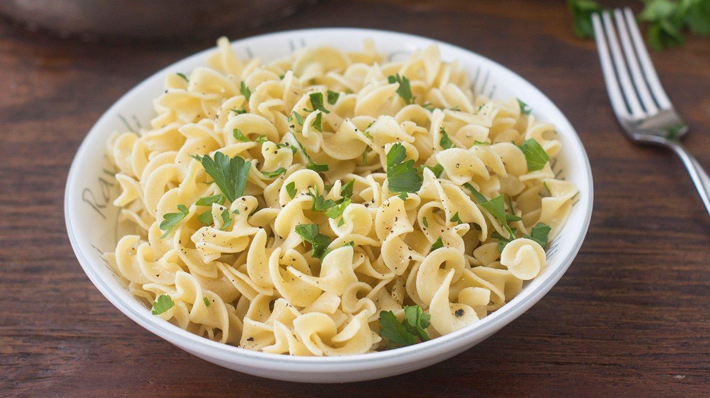 Buttered Egg Noodles