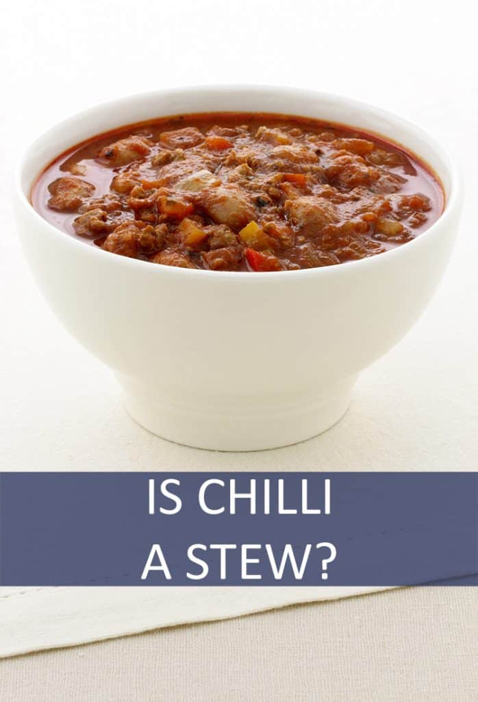 Chili is often listed on menus as a soup, but is that accurate? Is chili a soup or stew?
