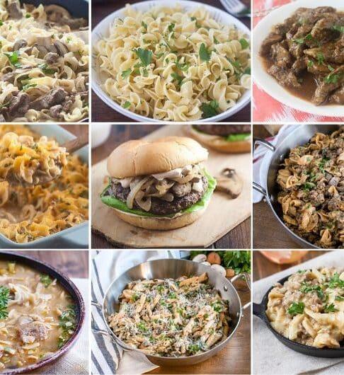 9 Beef Stroganoff Recipes