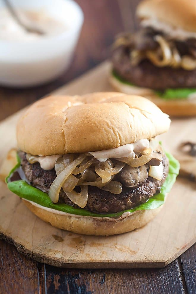 The secret to making an addicting Beef Stroganoff Burger is in the sauce. Lucky for you, we're showing you how to make it.