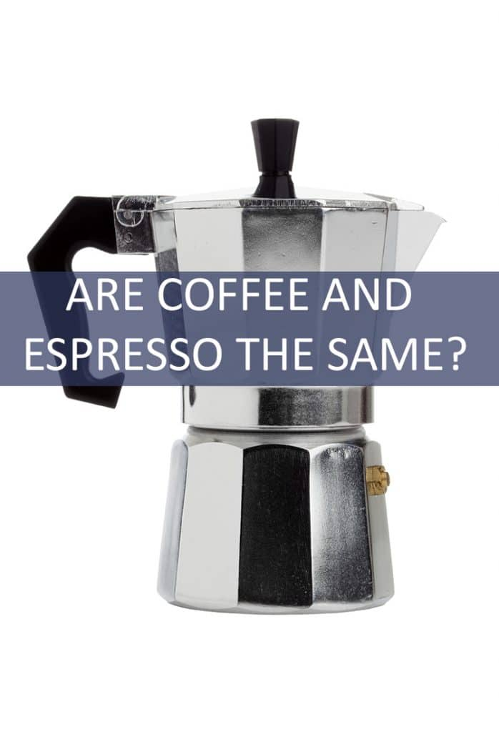Espresso is perfect for that extra added jolt in the morning, but is it just coffee with a fancy new name? What are the differences between the two?