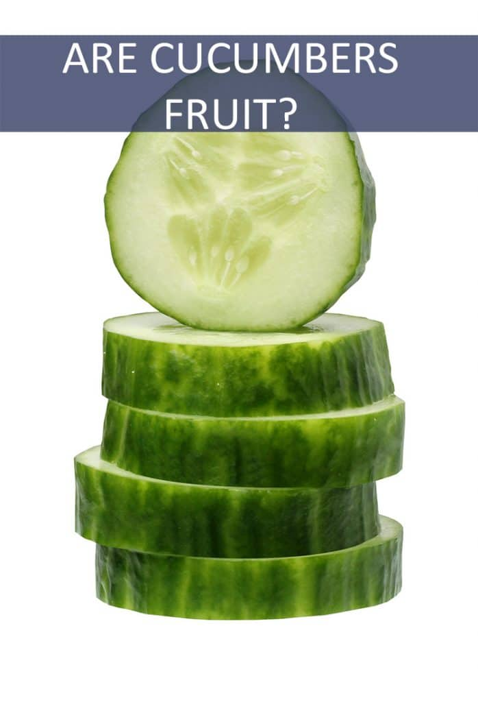 Cucumbers are typically known as vegetables, but are they really fruits?