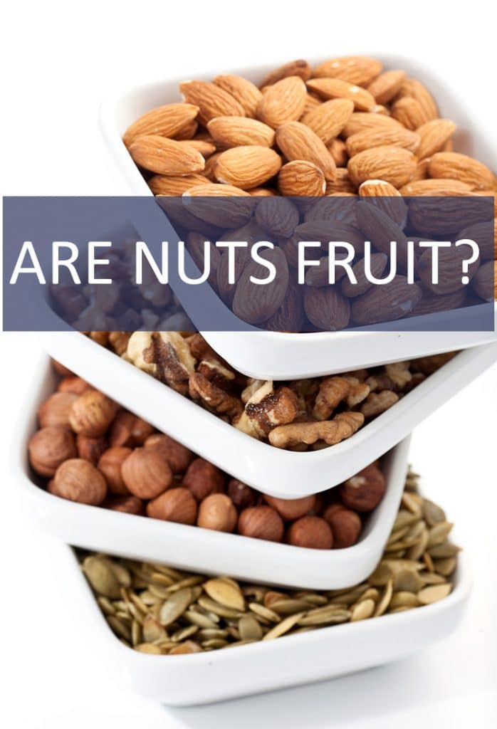 Are nuts actually fruits?  What constitutes a fruit anyway? The answer might surprise you!