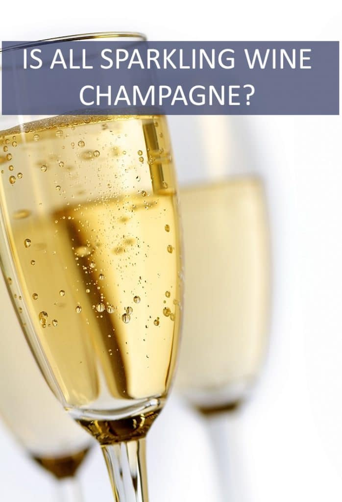 When it comes time to propose a toast you should know whether you're having sparkling wine or Champagne. How does one tell the difference? Aren't they the same thing?