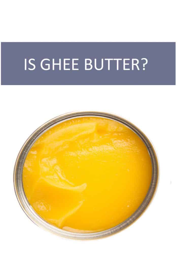 Is ghee actually butter? If so, how are they related? Why do they have such differing consistencies?