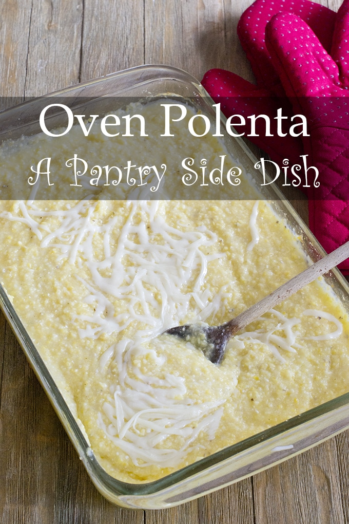Is there a bag of cornmeal in your pantry? Turn it into the amazingly simple yet delicious side dish, polenta! It's creamy, satisfying, and totally hands-off to make.