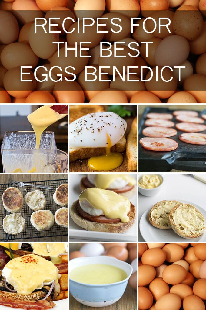 All the recipes you need to create the best Eggs Benedict your brunch has ever seen!