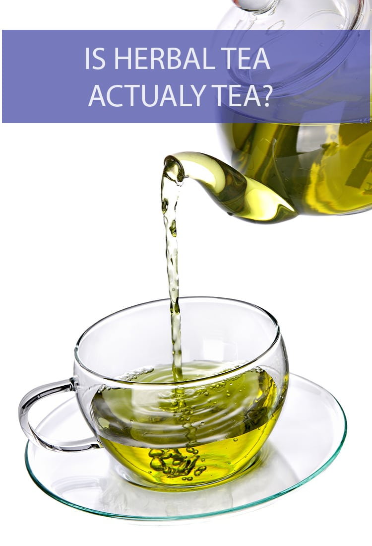 There's tea and then there's herbal tea. Why are there two different names? Are they not the same thing?