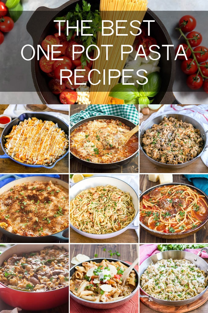 We just know you'll love all these delicious one pot pasta dishes. From learning our secret one pot pasta formula to favorite classics like Buffalo Wings turned into pasta dishes, we're sure these dinner recipes will change your meal rotation for the better.