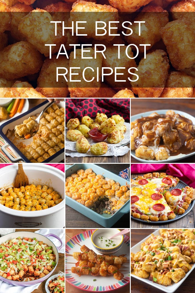 We\'re sharing eleven delicious tater tot recipes. From breakfast to dinnertime and from snacking to appetizers, we\'ve got you covered with the best recipes out there.