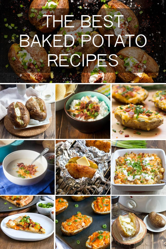 Get creative with your baked potatoes with all these variations on the classic!