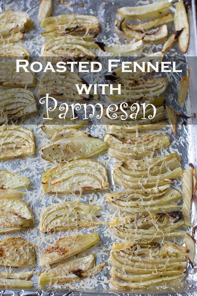 Fennel has a mild licorice flavor that is delicious paired with Parmesan cheese.