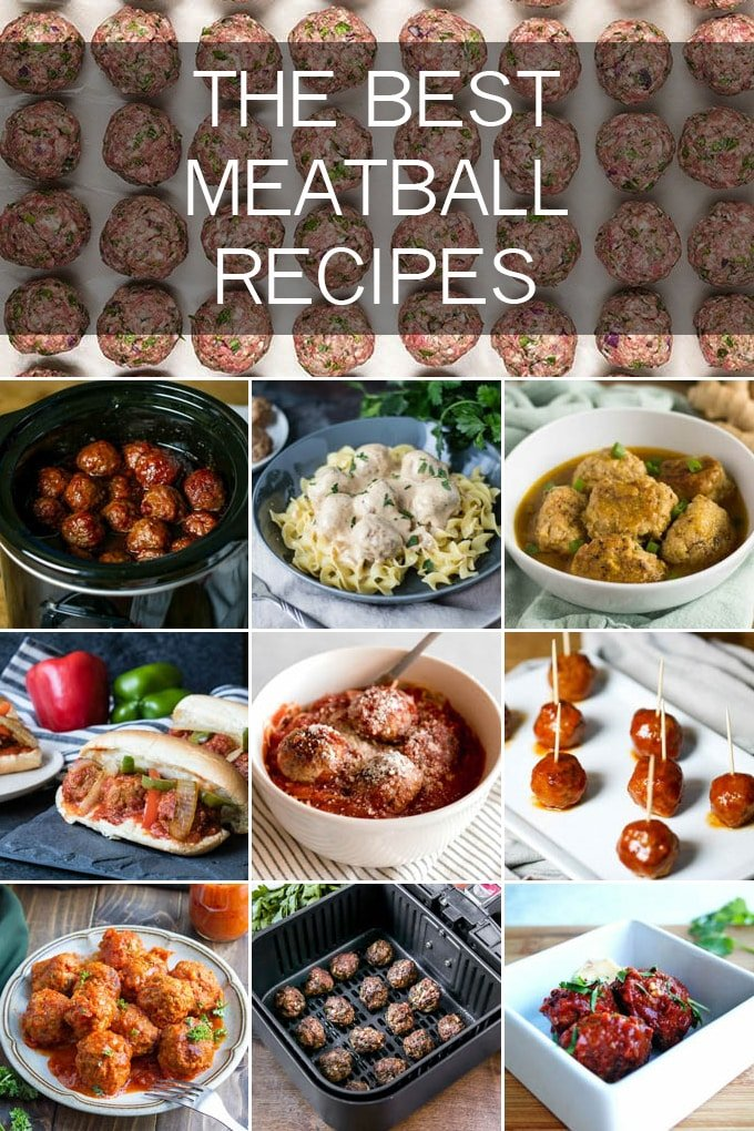 These meatballs are seriously the best ones out there with everything from grape jelly meatballs to Ikea meatballs and more!