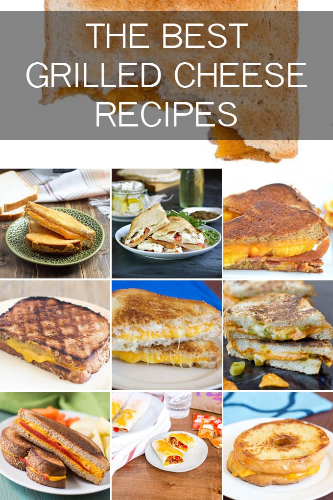 Discover all our Grilled Cheese recipes from the classics to some fun variations!