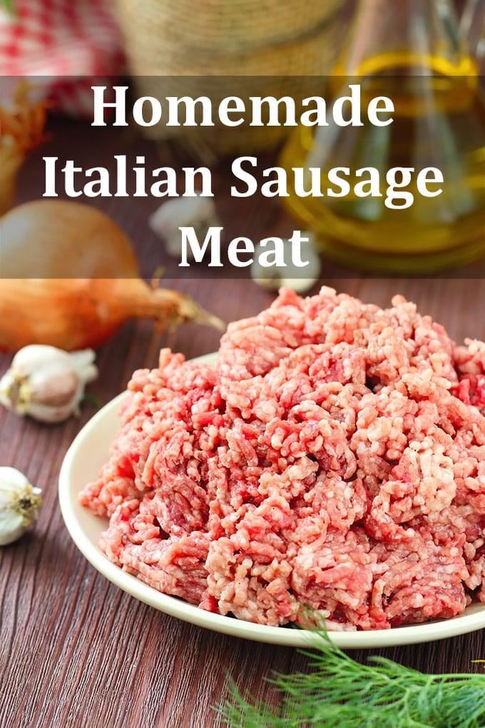 Italian Sausage Meat