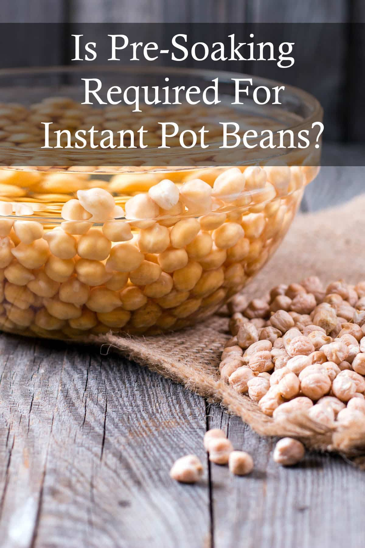 Instant Pot Beans: Is Pre-Soaking Required?